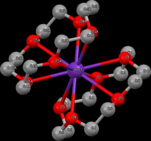 Komplex Rb s crown-etherem