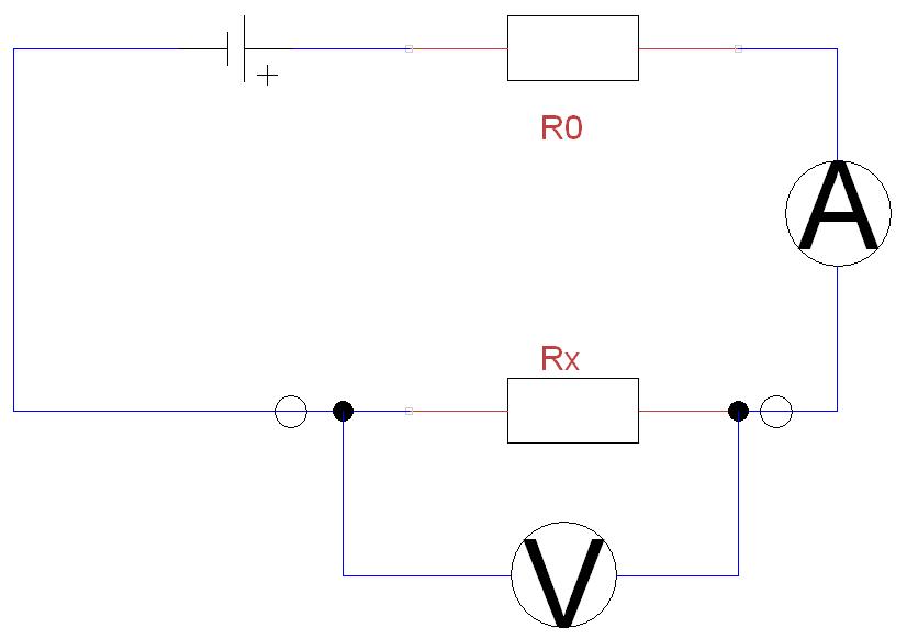 Ohmova metoda měření malých odporů