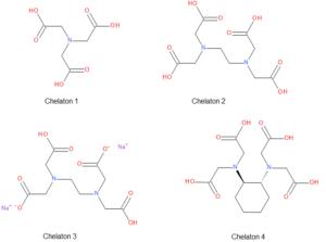 Struktury chelatonů
