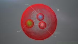 Ilustrace nově objevené částice.