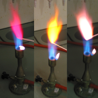 Barva plamene alkalických kovů