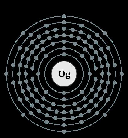 Elektronový obal oganessonu