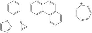 Příklady aromatických sloučenin
