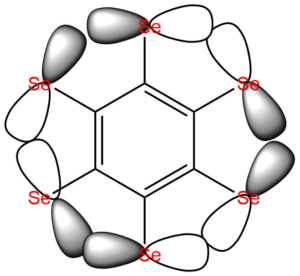 Ilustrace aromatického sigma-systému
