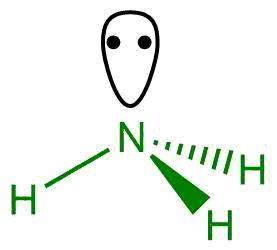 Molekula amoniaku