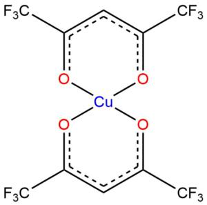 Hexafluoroacetylacetonát měďnatý