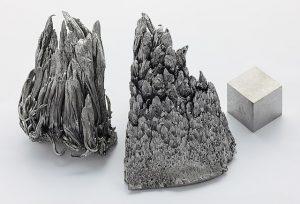 Kovové yttrium