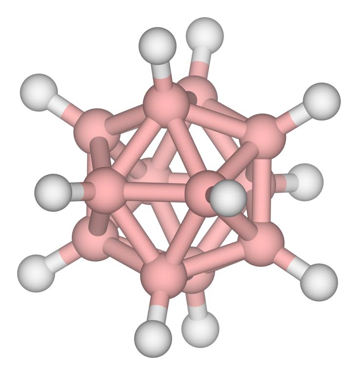 Struktura boranu B12H12