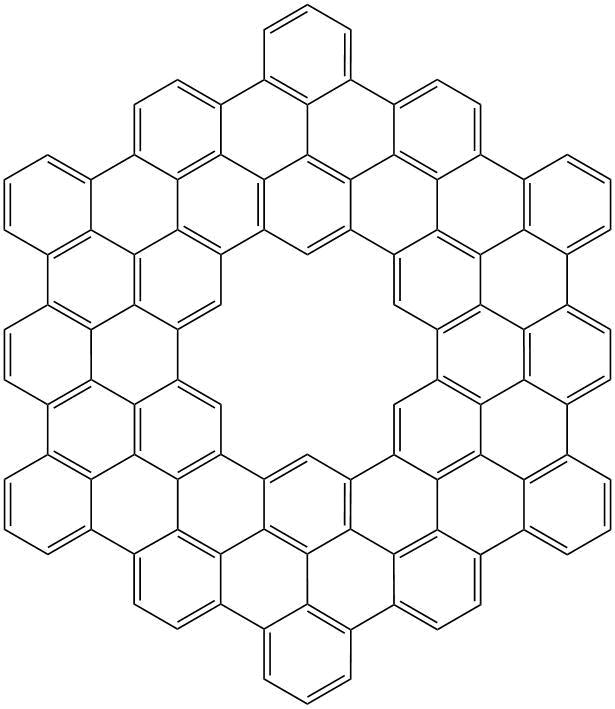 Struktura molekuly C108